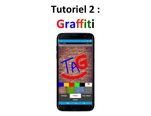 Tuto créez une application mobile Graffiti