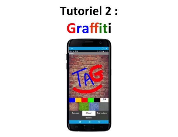 Appli mobile Graffiti Teen-Code