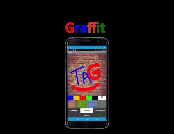 Tuto vidéo : Créez une application mobile Graffiti !