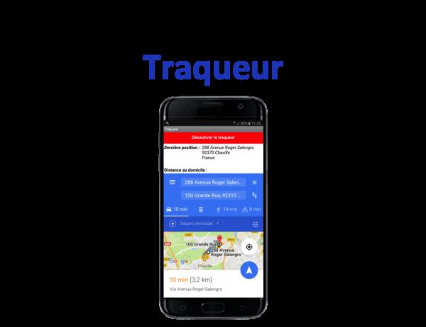 Appli mobile Traqueur Teen-Code