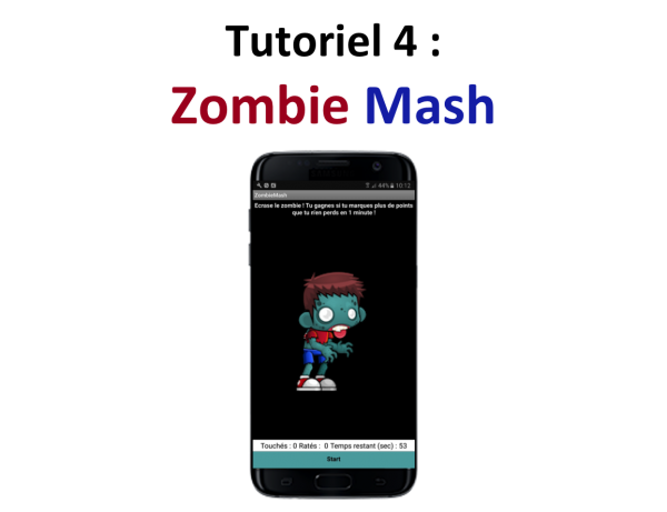 Appli mobile Zombie Mash Teen-Code