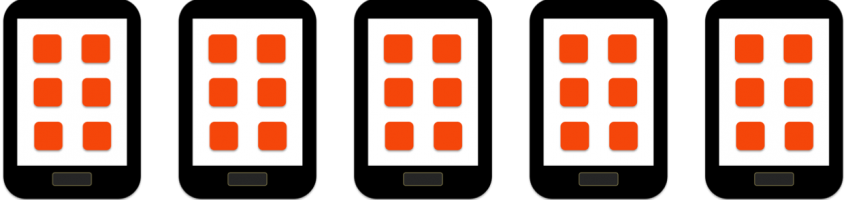 Quels sont les éléments d'une application mobile ?