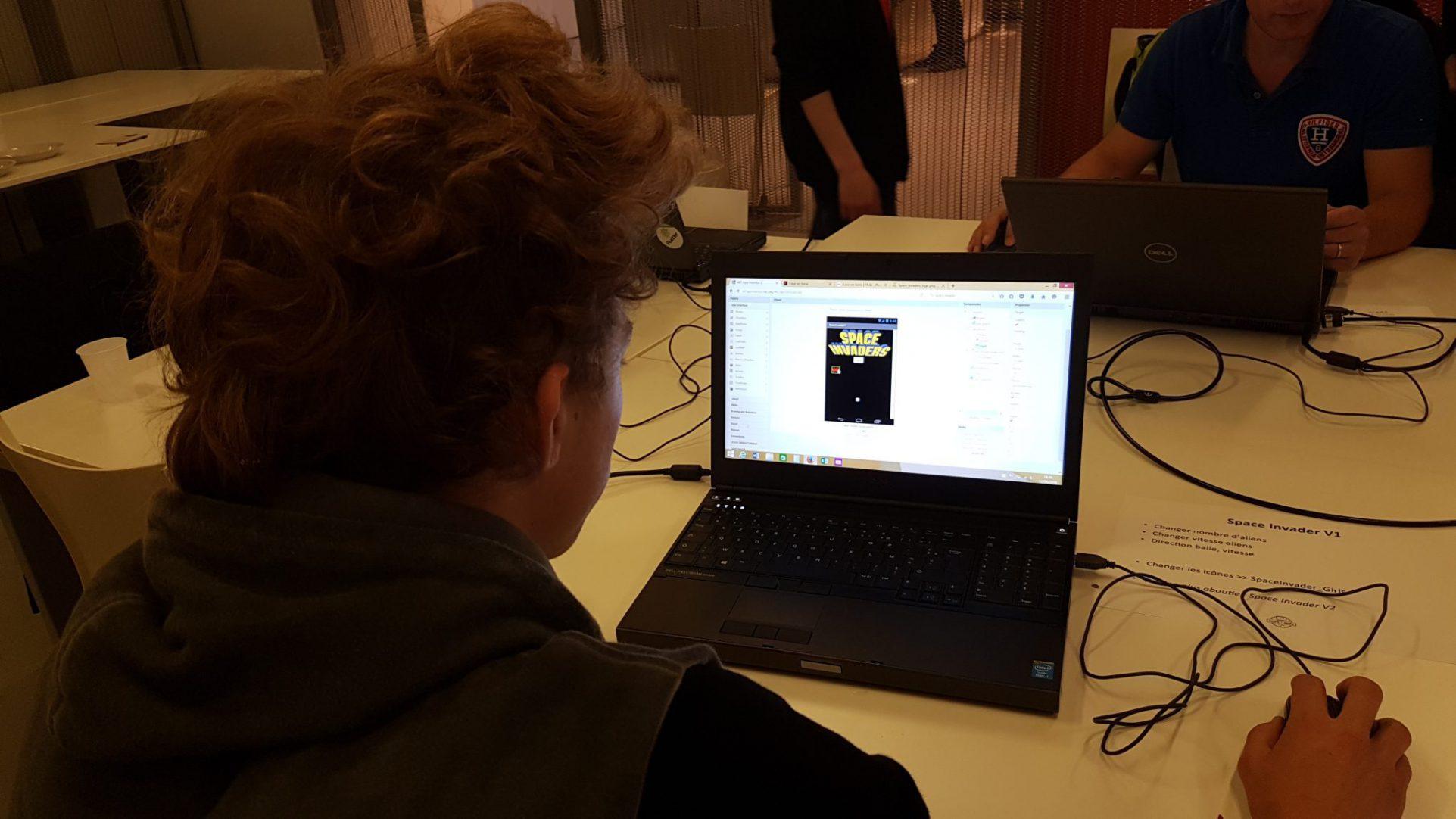 Teen-Code à Futur en Seine 2016