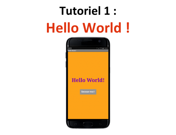 Appli mobile Hello World Teen-Code