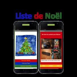 Tuto : Créez une application mobile Liste de Noël