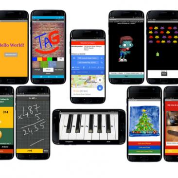 Synthèse 8 tutos débutants applis mobiles Teen-Code