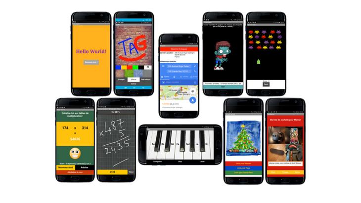 Création d'applications mobiles : synthèse des 8 tutos pour débutants