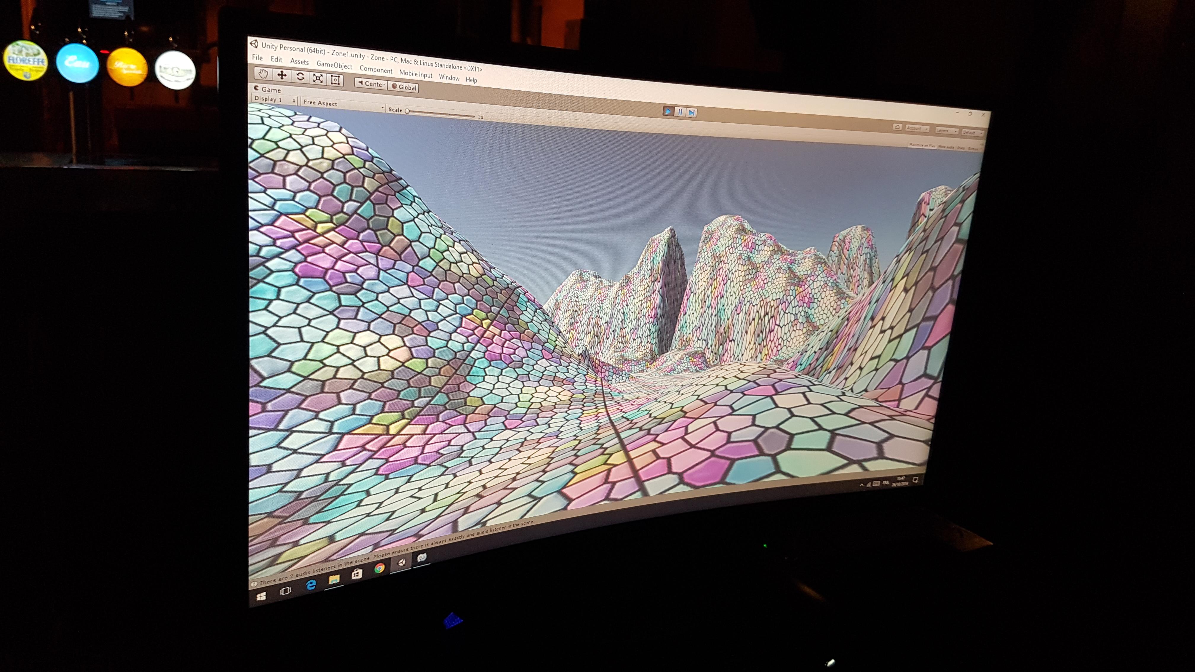 Création de textures pour une scène 3D sur Unity