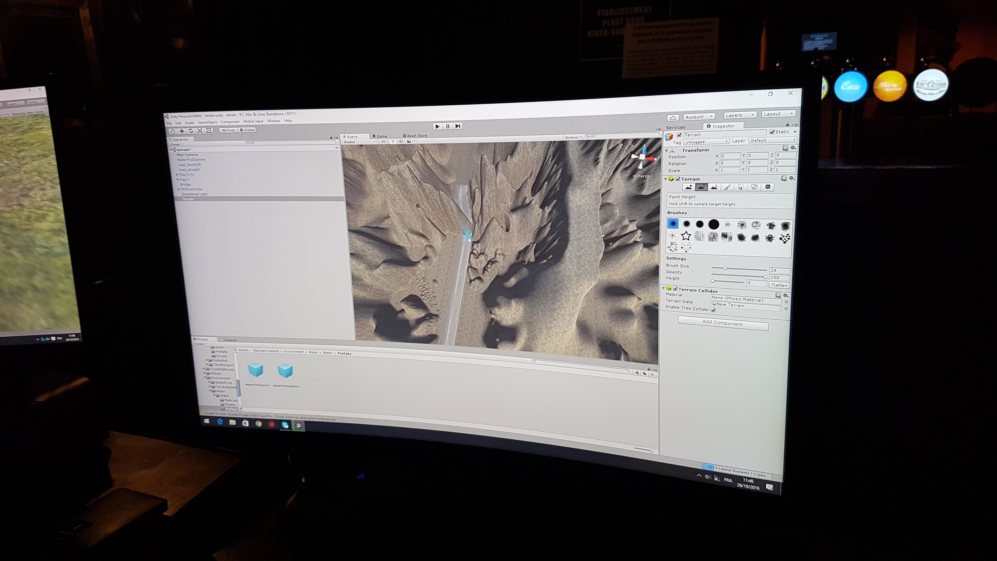 Création de cocotiers en 3D sur Unity