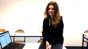 Noëlie Roux, étudiante à l'EEMI