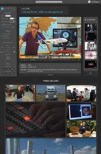 Projet de player vidéo d'une chaîne nationale