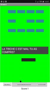 Appli Casse-Briques, par Mathys - Stage Teen-Code
