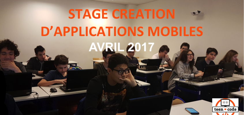 Stage création d'applications mobiles – Avril 2017