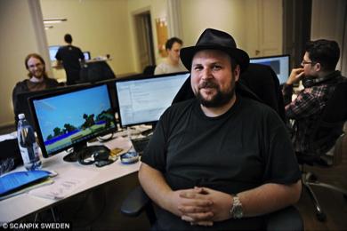 Markus Persson, le créateur de Minecraft