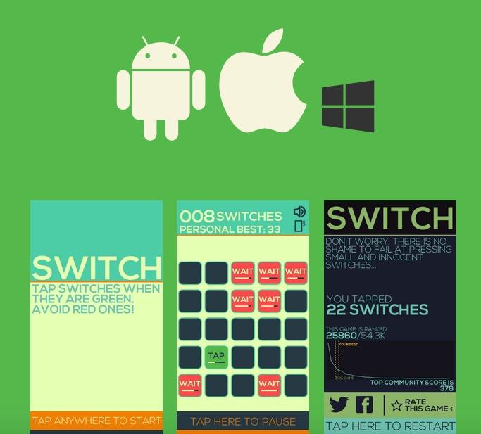 Switch par le studio Monkey Moon