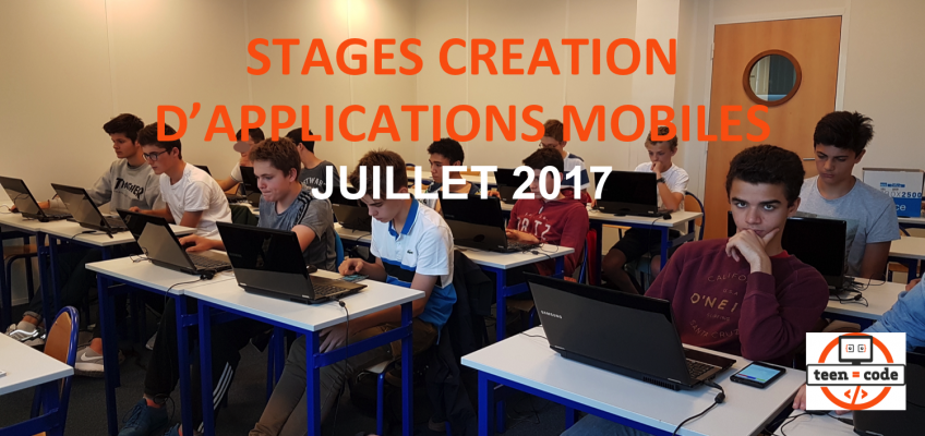 Stages Teen-Code Juillet 2017