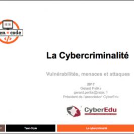 Atelier Cybercriminalité Teen-Code