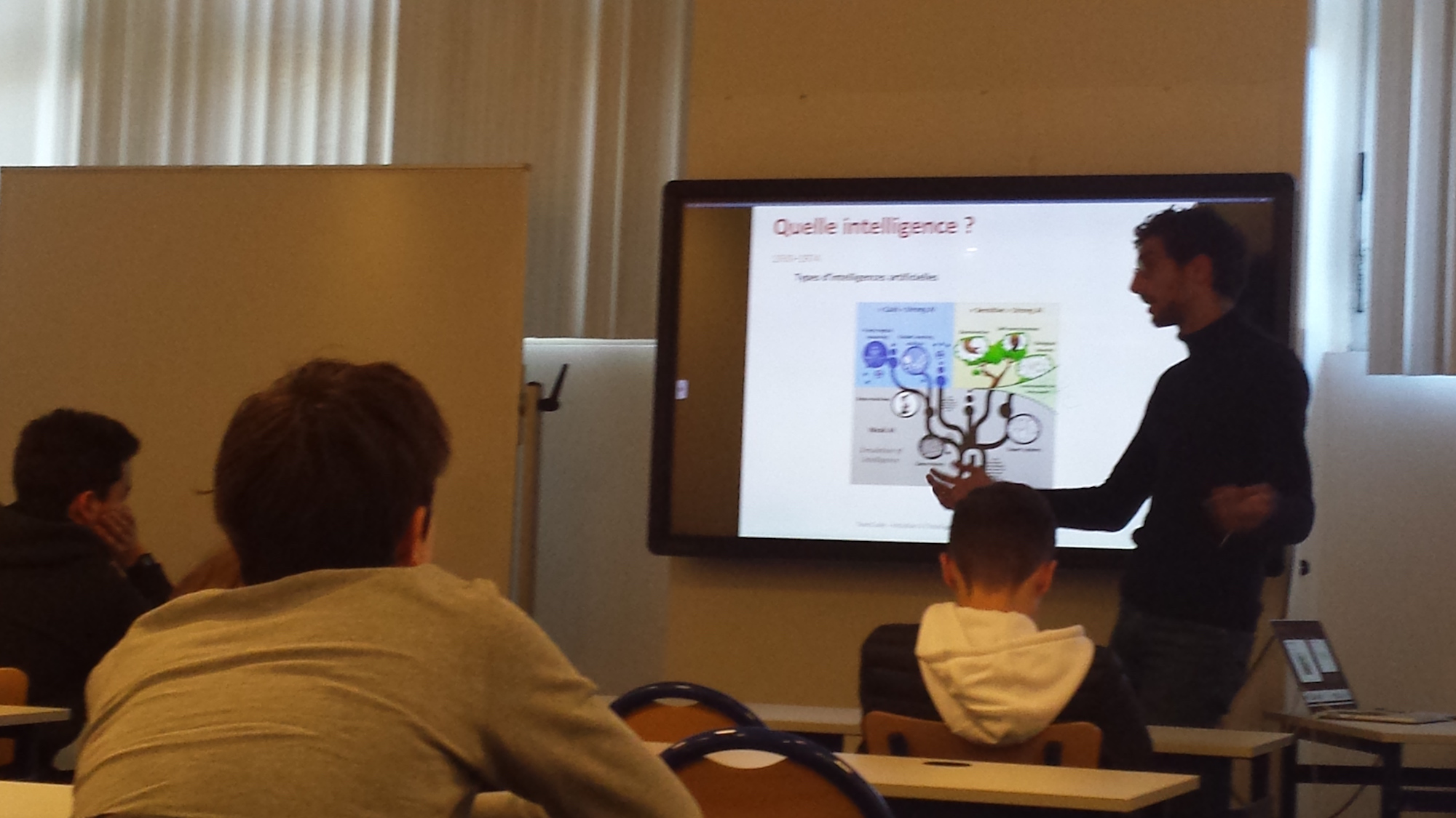 Conférence Intelligence Artificielle Teen-Code avec Romain Untereiner