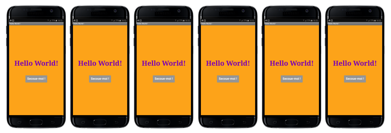 Hello World appli mobile Teen-Code